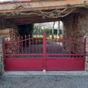 Cloture portail exterieur menuiserie exterieure poirier clisson